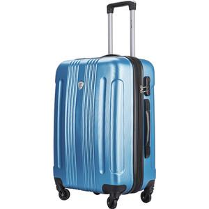 Чемодан L'CASE Bangkok blue (M) с расширением