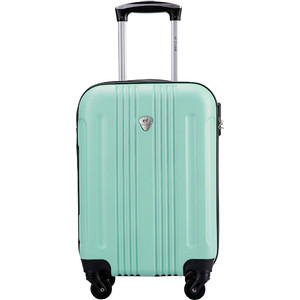 Чемодан LCASE Bangkok Light green 18 (S) 23*37*54 с расширением
