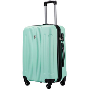 Чемодан LCASE Bangkok Light green 22 (M) 28*62*43 с расширением