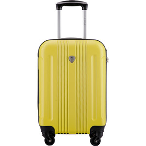 Чемодан LCASE Bangkok Light yellow 18 (S) 23*37*54 с расширением