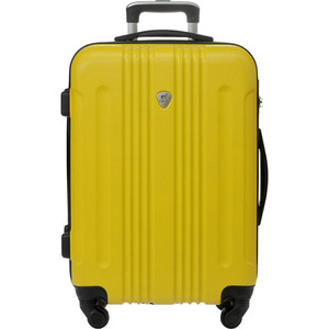 Чемодан LCASE Bangkok Light yellow 22 (M) 28*62*43 с расширением