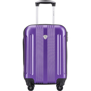 Чемодан LCASE Bangkok New purple (S) с расширением