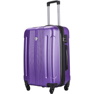 Чемодан LCASE Bangkok New purple (M) с расширением