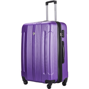 Чемодан LCASE Bangkok New purple (L) с расширением