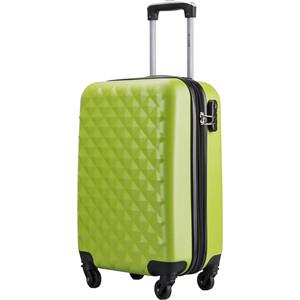 купить Чемодан L'CASE Phatthaya K17 green 20 (S) 24*37*60 с расширением по цене 2655 рублей