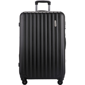 Чемодан L'CASE Krabi Black 26 (L) 33*47*72 с расширением чемодан l case bangkok black 26 l 31 47 72