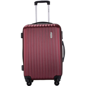 Чемодан L'CASE Krabi Red wine 22 (M) 27*62*43 с расширением цена