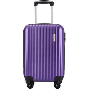 Чемодан LCASE Krabi New purple 18 (S) 22*37*54 с расширением