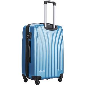 Чемодан L'CASE Phuket Blue (M) с расширением