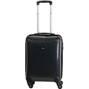 Чемодан LCASE Paris K05 SHINY Black (S)
