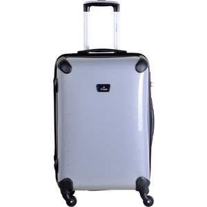 Чемодан L'CASE Paris K05 SHINY Gray 24 (М) 27*46,5*68