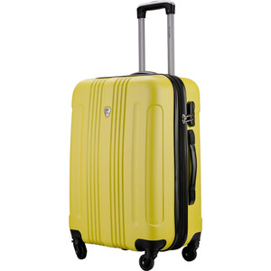 Комплект чемоданов L'CASE Bangkok Light yellow с расширением mr big bangkok