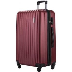 Комплект чемоданов LCASE Krabi Red wine с расширением