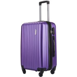 Комплект чемоданов LCASE Krabi New purple с расширением