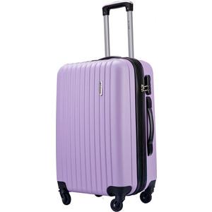 Комплект чемоданов LCASE Krabi Light purpule с расширением