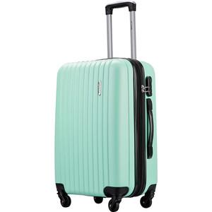 Комплект чемоданов LCASE Krabi Light green с расширением