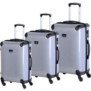 Комплект чемоданов LCASE Paris K05 SHINY Gray
