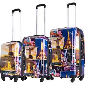 Комплект чемоданов LCASE Building