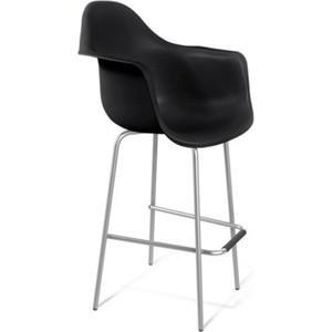 Стул барный Sheffilton SHT-ST7/S29 черный / хром лак барный стул цвет мебели bn1012 wy451 черный