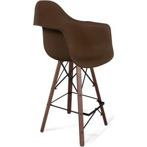 Стул барный Sheffilton SHT-ST7/S80 коричневый / темный орех / черный стул барный катрин bst 5172 орех