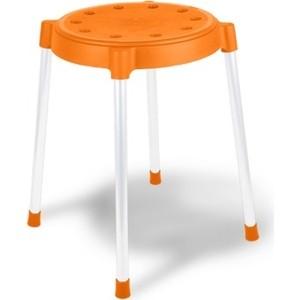 Табурет Sheffilton Табурет SHT-S36 Оранжевый/серый