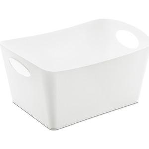 Контейнер для хранения белый Koziol Boxxx M (5744525) контейнер для хранения koziol boxxx 48 31 24 см голубой