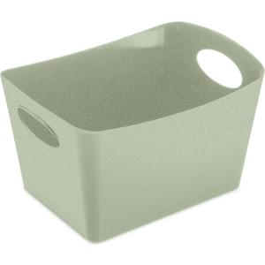Контейнер для хранения 1 л зелёный Koziol Boxxx S Organic (5745668)