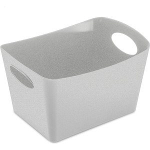 Контейнер для хранения 1 л серый Koziol Boxxx S Organic (5745670) контейнер для хранения koziol boxxx 48 31 24 см голубой
