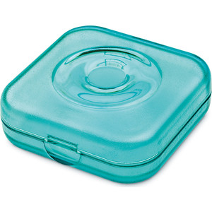 Шкатулка прозрачная голубая Koziol Private Box (5801620)