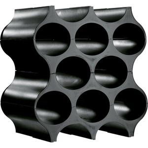 Подставка для бутылок чёрная Koziol Set-up (3596526)