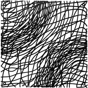 Набор из 4 декоративных элементов чёрный Koziol Silk (2033526) koziol подстановочная салфетка silk 3090588 45х32 см оливковая 004 080200 005 koziol