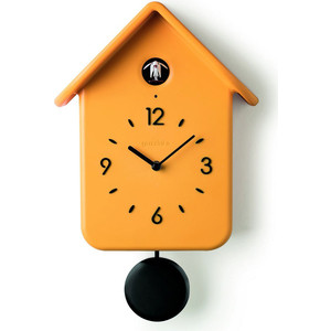 Часы с кукушкой жёлтые Guzzini QQ (168602165)
