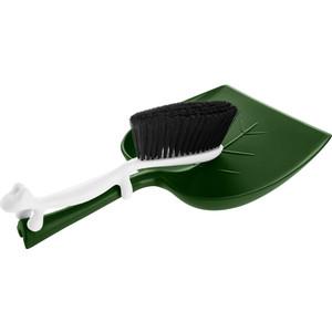 Набор щётка и совок зелёный Koziol Dustin (5050363) все цены