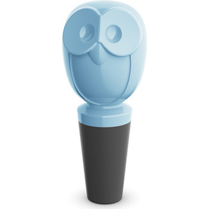 Пробка для бутылки чёрно-голубая Koziol Elli (3759406)