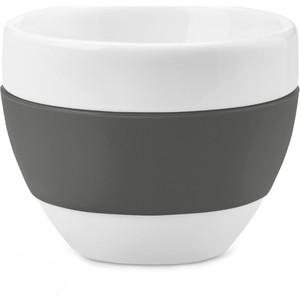 Чашка для капучино 100 мл тёмно-серая Koziol Aroma (3561342)
