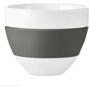 Чашка для латте 300 мл тёмно-серая Koziol Aroma (3560342)