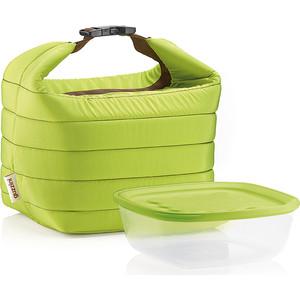 цена на Набор термосумка+контейнер малый зеленый Guzzini Handy (03295084)