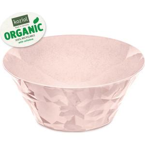 Салатница 3,5 л розовая Koziol Club Bowl L Organic (3572669)