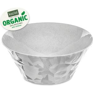 Салатница 3,5 л серая Koziol Club Bowl L Organic (3572670)