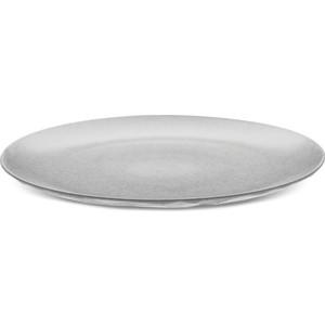 Тарелка обеденная d 26 см серая Koziol Club Organic (4005670)