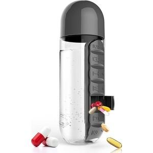 Бутылка органайзер 0,6 л черная Asobu In style (PB55 black)