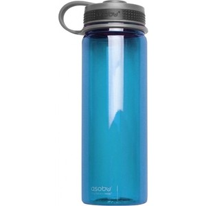 Бутылка спортивная 0,72 л голубая Asobu Pinnacle (TWB10 blue) термокружка 0 38 л asobu sparkling mugs голубая mug 550 blue