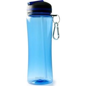 Бутылка спортивная 0,72 л голубая Asobu Triumph (TWB9 blue) термокружка 0 38 л asobu sparkling mugs голубая mug 550 blue