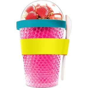 Контейнер 0,38 л розовый Asobu Chill yo 2 go (CY2GO pink)