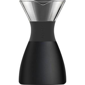 Кофеварка портативная 1 л черная Asobu Pour Over (PO300 Black/Black)