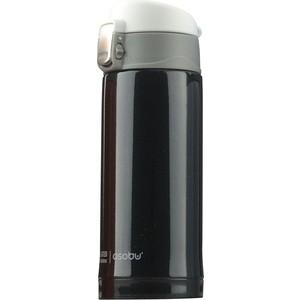 Термокружка 0,2 л черная Asobu Mini diva (V606 black) термокружка 0 38 л asobu sparkling mugs голубая mug 550 blue
