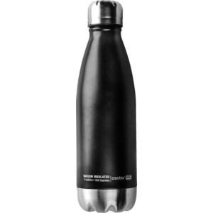 Термос-бутылка 0,51 л черная/стальная Asobu Central park (SBV17 black-silver) термос фляга asobu central park