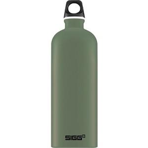 Бутылка 1 л зеленая Sigg Traveller (8744.20) бутылка для воды 1 л sigg traveller 8327 00 светло серая