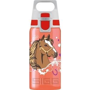 Бутылочка детская Horses 0,5 л красная Sigg Viva One (8627.50)