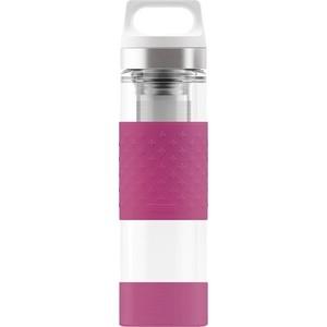 Термобутылка 0,4 л розовая Sigg H&C Glass WMB Midnight (8599.00) недорого